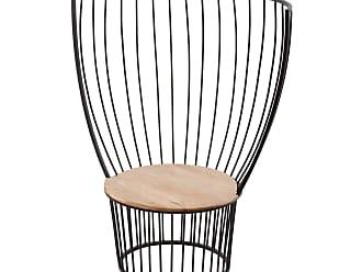 Dimond Home Teak and Metal Carousel Chair