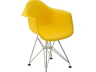 Rivatti Cadeira Infantil Eiffel Eames DAR Amarela