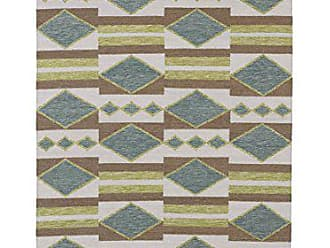 Kaleen Rugs Nomad Collection NOM07-78 Turquoise Flat-Weave 2 x 3 Rug