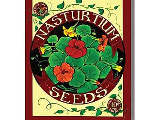 West of the Wind Nasturtium Seed Pack Outdoor Canvas Art - 24 x 24 in. - 75555-18