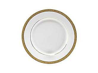 10 Strawberry Street Paradise 7 Bread & Butter Plate, Set of 6, Gold