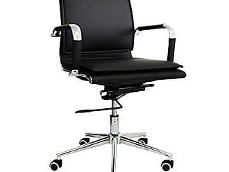 Pelegrin Cadeira Diretor Pelegrin em Couro Pu Pel-8003l Preta Design Charles Eames