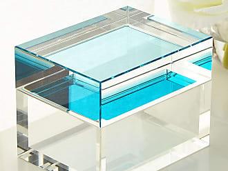 John-Richard Aqua Petite Crystal Box