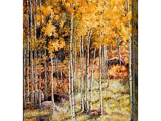 West of the Wind Indoor/Outdoor Hidden Gold Wall Art - OU-85020