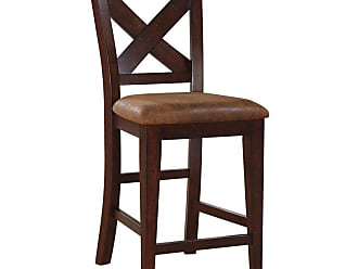 Winners Only 26 in. X Back Counter Stool - Set of 2 - WIN808-1