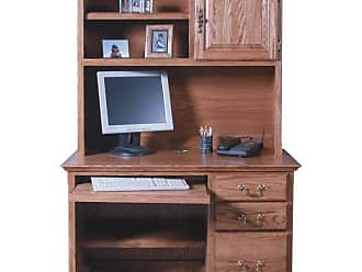 Forest Designs Customizable Traditional 1026 Computer Desk - 1026-T