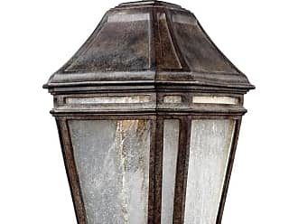 Feiss Londontowne 15 LED Outdoor Hanging Lantern in Weathered Chestnut