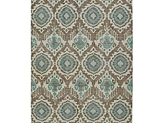 Kaleen Rugs Relic Collection RLC06-82 Lt. Brown Hand-Knotted 8 x 10 Rug