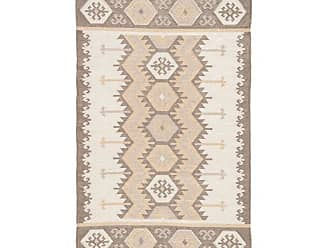 Jaipur Living Rugs Desert Tribal Geometric Chevron Indoor/Outdoor Area Rug Silver Green, Size: 8 x 10 ft. - RUG128173