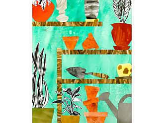 Ptm Images Potting Shed 2 Framed Canvas Wall Art - 9-110397