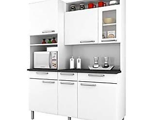Itatiaia Cozinha Compacta Itatiaia I31vg3-155 Regina 6 Portas Branca Neve