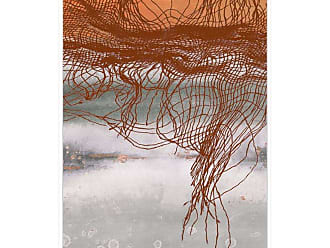 Ptm Images Frayed Abstract 1 Framed Canvas Wall Art - 9-115602