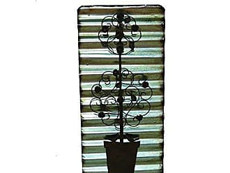 Yosemite Home Decor Yosemite Home Decor Iron Wall Decor, Natural Rust
