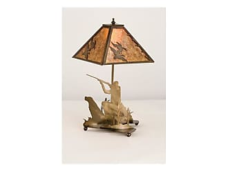 Livex Lighting Meyda Tiffany 50402 Table Lamp from the Ducks in Flight Collection