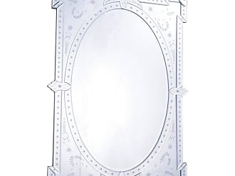 Elegant Furniture & Lighting Venetian Wall Mirror - 29W x 40.75H in. - MR-2033