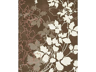 Noble House Dahlia DAHL820 Indoor Area Rug Brown / White - DAHL820279106