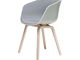 HAY About A Chair AAC22 Spiegelpolster Stuhl Lackiert Pastell Grün
