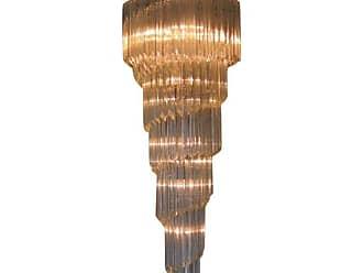 VENINI Spiral Murano Chandelier