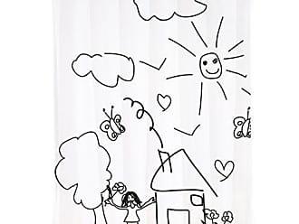 """/""""Lanyu/"""" 180x200cm mit 12 Duschvorhangringen waschbar MSV 140799  Duschvorhang Anti-Bakteriell Polyester wasserdicht"""