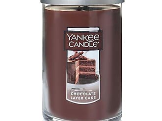 Yankee Candle Company Yankee Candle Large 2-Wick Tumbler Candle, Chocolate Layer Cake