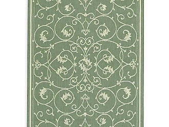 Couristan Veranda Scroll Indoor/Outdoor Rug, 76 x 109