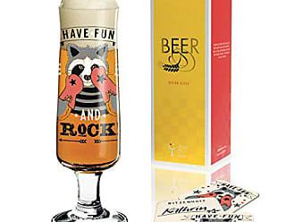 250 ml aus Kristallglas RITZENHOFF Craft Beer Bierglas von Maya Franke mit f/ünf Bierdeckeln