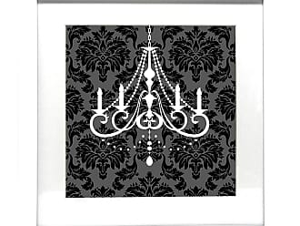 Ptm Images Elegant Chandelier I Framed Giclee Print - 18x18