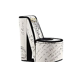 Ore International ORE International HBB1829 Stencil High Heel Shoe Display with Hooks Jewelry Box, Letter Print