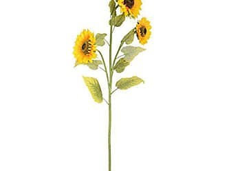 Vickerman FG180601 Yellow Mixed Floral Teardrop