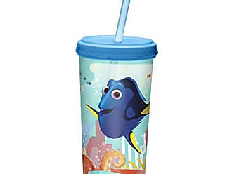 Zak designs Finding Dory 13 oz. Plastic Cup with Lid, Dory