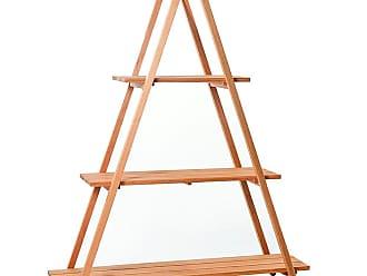 Mão & Formão Estante Escada para Vasos Sophie - JatobáJatobá
