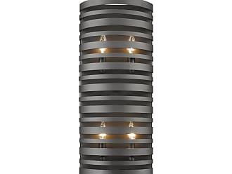 Z-Lite 441-4S Memphis 4 Light ADA Compliant Wall Sconce Bronze Indoor