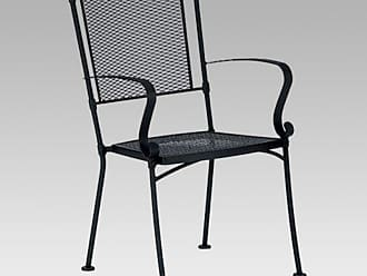 Woodard Bradford Stackable Outdoor Dining Armchair - Set of 2, Patio Furniture - WD1444-2