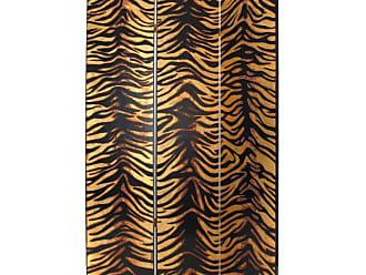 Wayborn 2302X Gold Leaf Zebra Screen Room Divider - 2302X