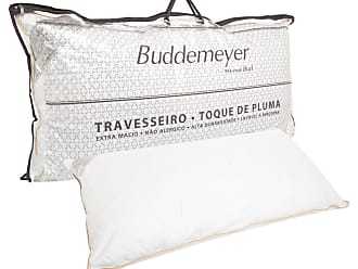 Buddemeyer Travesseiro Buddemeyer Matelassê Toque de Pluma 50x90cm Branco