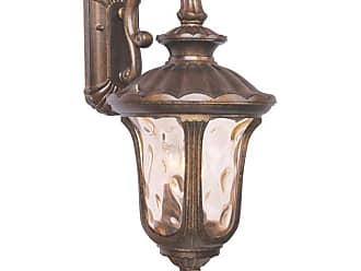Livex Lighting 7657-LQ Oxford 3 Light Outdoor Wall Sconce Moroccan