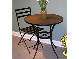 4D Concepts Round Table with Slate Top - 601611