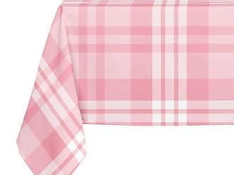 Kavka Designs Pink Large Plaid Tablecloth - TBC-SPLLT-70X90-NOR041