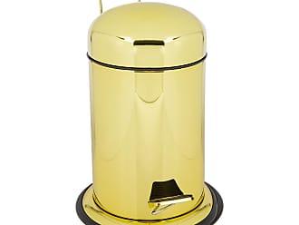 Decor Walther TE30 Trash Can - Gold Varnish