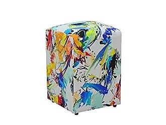 Nay Multicoisas Puff Decorativo Suede Color