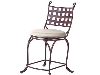 Kalco Vine Counter Height Stool w/out Arms in Bark Finish