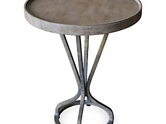 222 Fifth Vintage Round Accent End Table