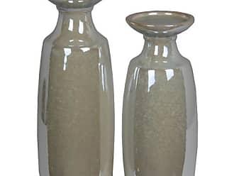 Privilege International Opulent Pearl Candle Holder - Set of 2