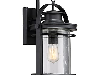 Quoizel Booker Large Wall Lantern in Mystic Black