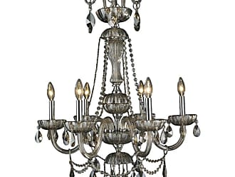 Worldwide Lighting W8317725 Carnivale 6 Light 25 Wide Crystal