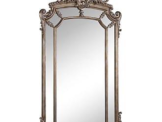 Elegant Furniture & Lighting Antique Arch Wall Mirror - 30W x 48H in. - MR-3354