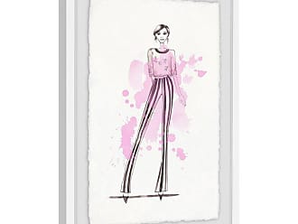 Marmont Hill Love Pink Framed Wall Art - MH-ALIBIL-21-WFPFL-18