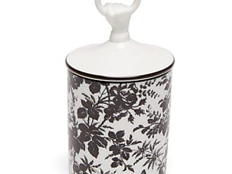 Gucci Herbarium Floral Print Scented Candle - White Black