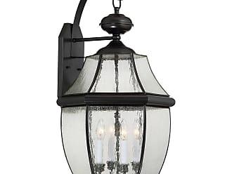 Quoizel Newbury 29 4-Light Wall Lantern in Mystic Black