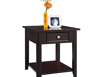 Winners Only Metro 1 Drawer End Table - Espresso - AM100E